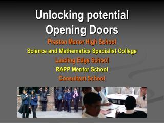 Unlocking potential Opening Doors