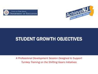 Student Growth Objectives