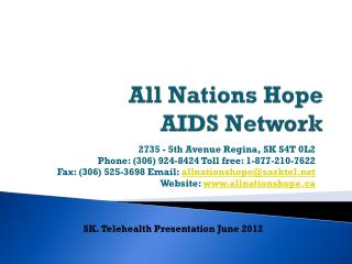 All Nations Hope AIDS Network