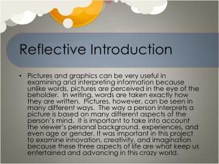 Reflective Introduction