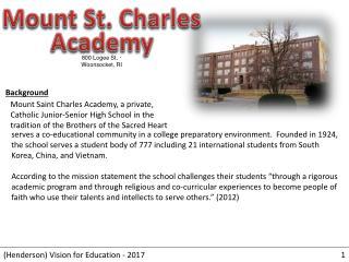Mount St. Charles