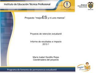 Instituto de Educación  Técnica Profesional