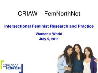 CRIAW – FemNorthNet