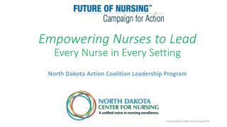 Empowering Nurses to  Lead Every Nurse in Every Setting