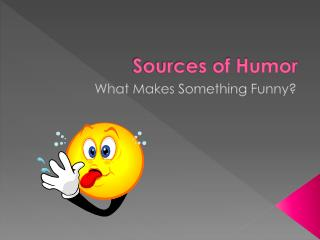 Sources of Humor