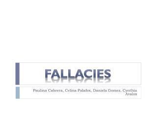 Paulina Cabrera, Celina Palafox, Daniela Gomez, Cynthia Avalos