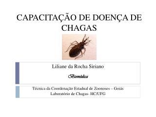 CAPACITA��O DE DOEN�A DE CHAGAS