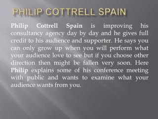 Philip Cottrell Spain