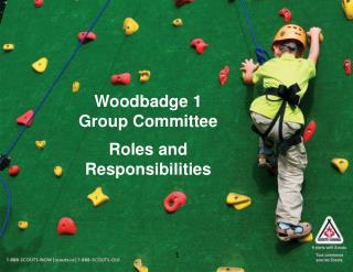 Woodbadge 1 Group Committee Roles and Responsibilities