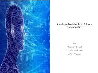 Knowledge Modeling from Software  Documentation