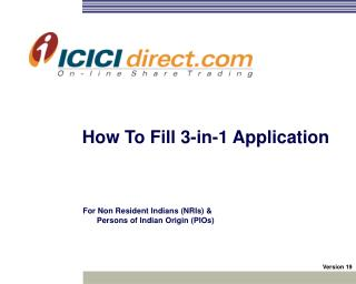 ICICIdirect Global launch of NRI services