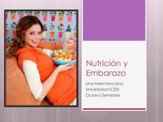 Nutrici�n y Embarazo