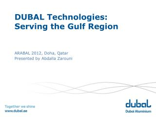 DUBAL Technologies: Serving the Gulf Region