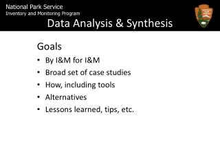 Data Analysis & Synthesis