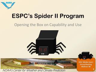 ESPC's Spider II Program