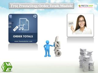Free PrestaShop Order Status Extension
