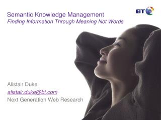 Semantic Knowledge Management Finding Information Through ...