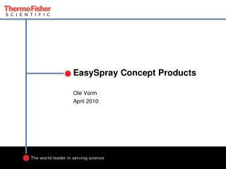EasySpray  Concept Products