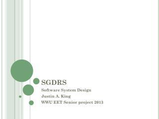 SGDRS