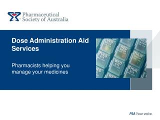 Dose Administration Aid Services