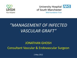 """MANAGEMENT OF INFECTED VASCULAR GRAFT"""