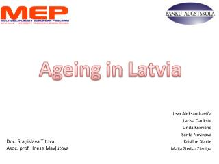 Ageing in Latvia