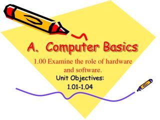 A. Computer Basics