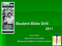 2011 Student Bible Drill