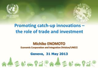 Promoting  catch-up  innovations –  the role of trade and investment