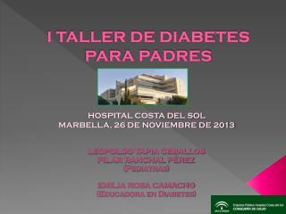 I TALLER DE DIABETES PARA PADRES