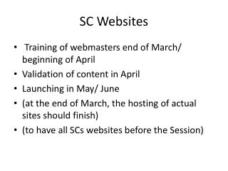 SC  Websites
