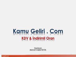 Kamu Geliri . Com