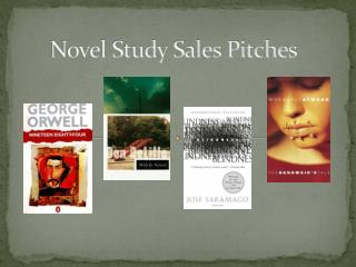 Novel Study Sales Pitches