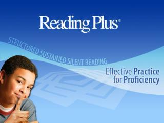 Reading Plus Builds Proficiency