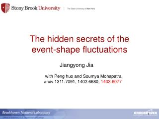 The hidden secrets of the  event-shape fluctuations