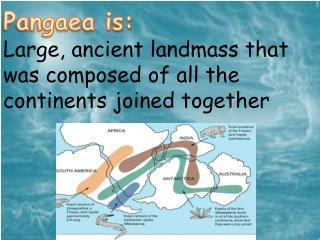 Pangaea is: