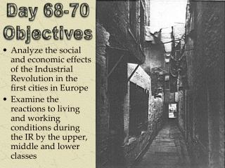 Day 68-70 Objectives