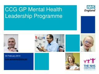 CCG GP Mental Health Leadership  Programme
