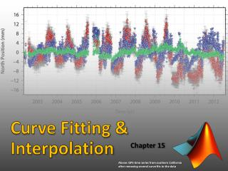 Curve Fitting & Interpolation