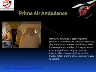 Importance of Air Ambulance Aviation