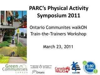 PARC's Physical Activity Symposium 2011