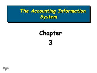 Chapter 3 PowerPoint