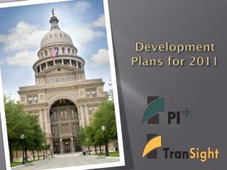 Development  Plans for 2011
