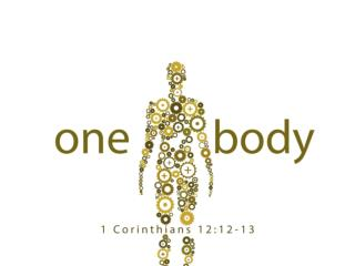 Each part of the spiritual body is indispensable. 1  Cor  12:21-26.