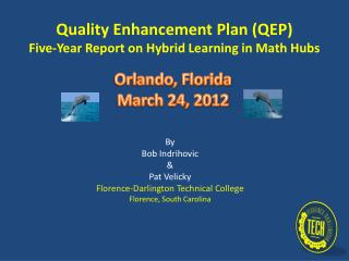 Quality Enhancement Plan (QEP) Five-Year Report on Hybrid Learning in Math Hubs