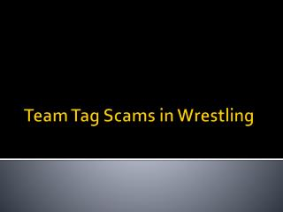 Team Tag Scam and Review