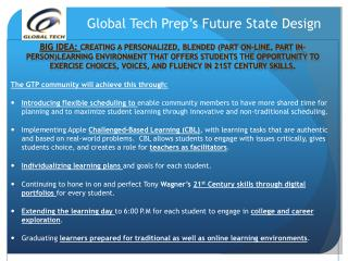 Global Tech Prep's Future State Design