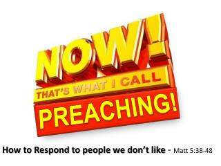PREACHING!