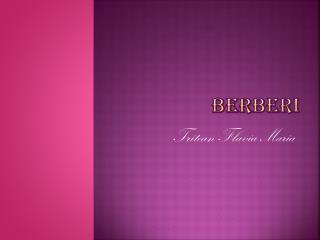 Berberi