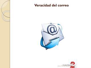 Veracidad del correo